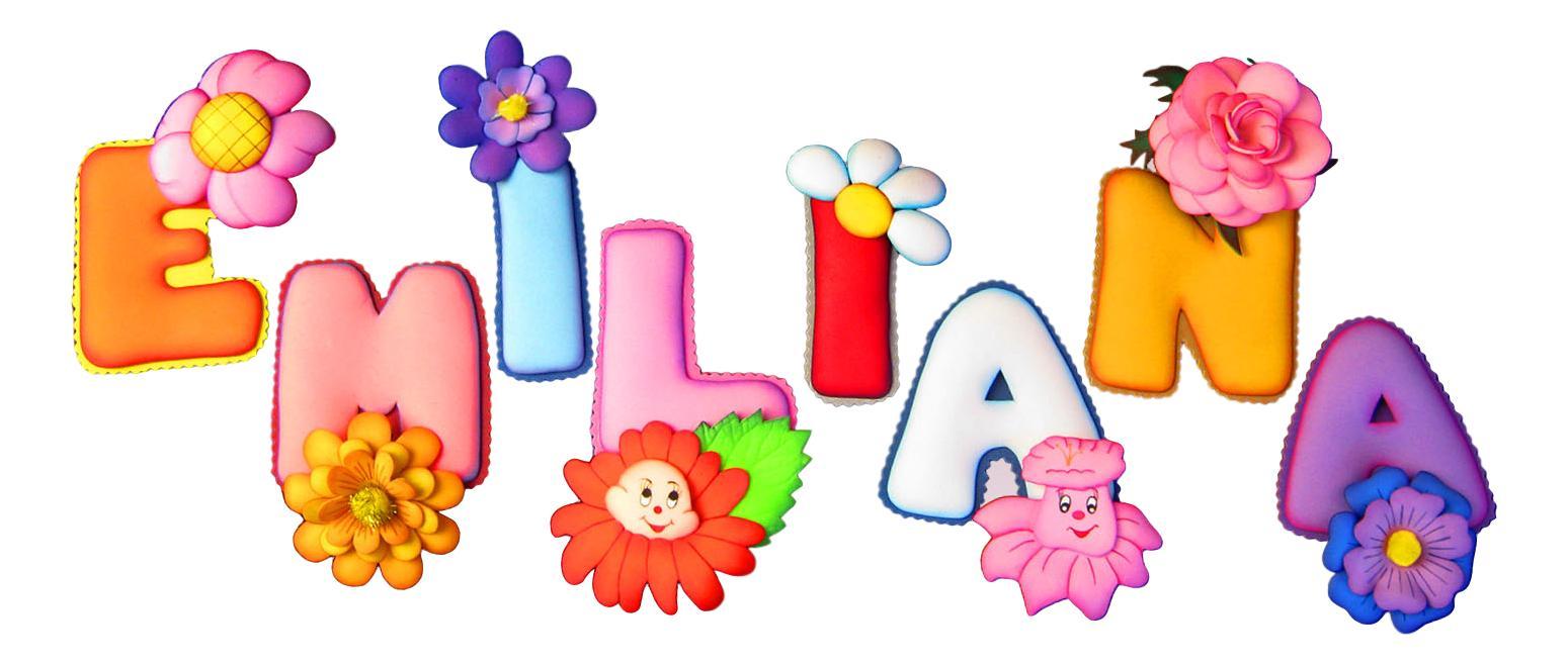 Terearte letras termoformadas con motivos infantiles - Letras para habitaciones infantiles ...