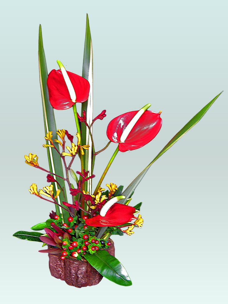 Arreglos florales con flores naturales - Arreglo de flores naturales ...