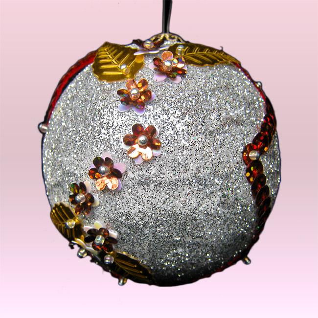 Terearte bolas navide as decoradas para el rbol - Bolas de navidad grandes ...