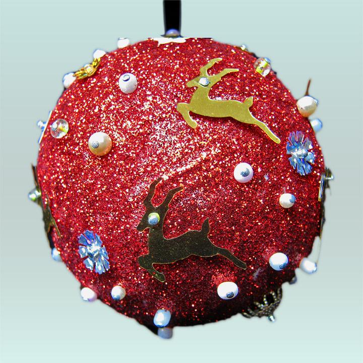 Bolas navideas awesome decoracion con bolas de navidad with decorar bolas de navidad finest - Decoracion con bolas de navidad ...