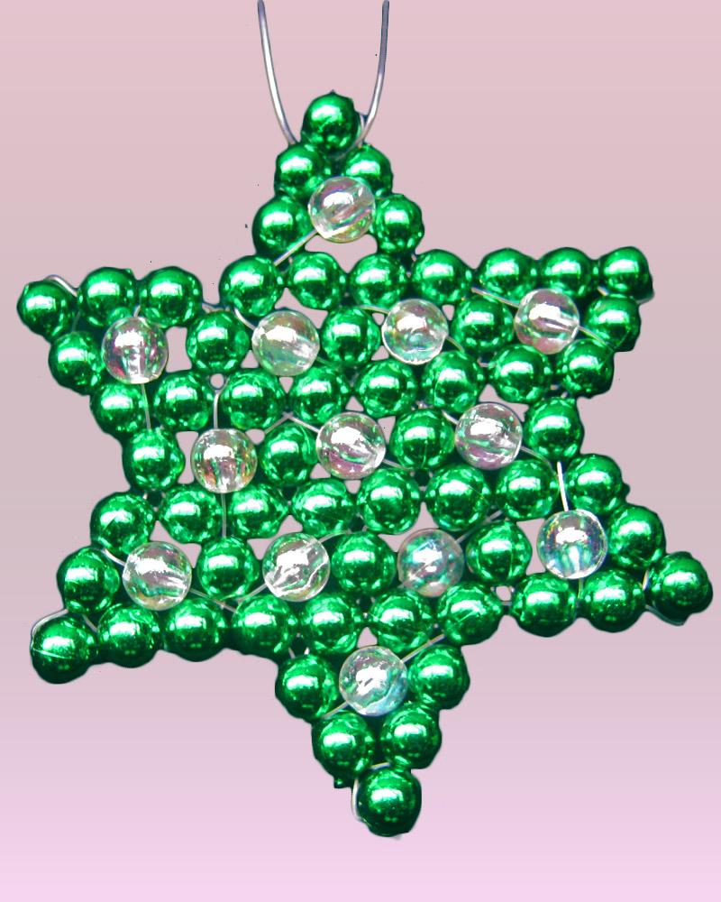 Terearte estrellas navide as en perlas decorativas for Adornos navidenos mercadolibre