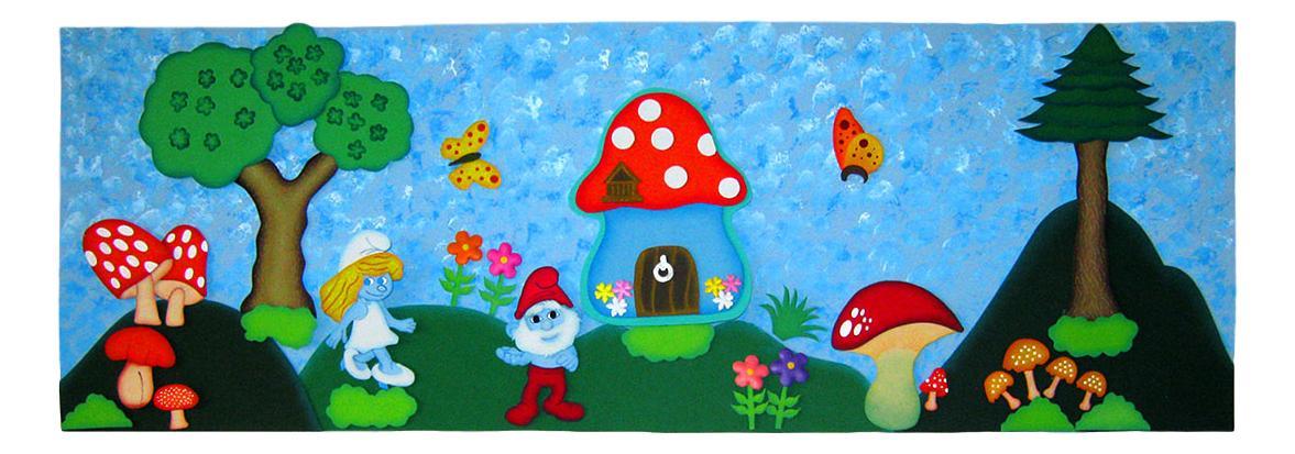 TereArte | Cenefas decorativas para el cuarto de los niños