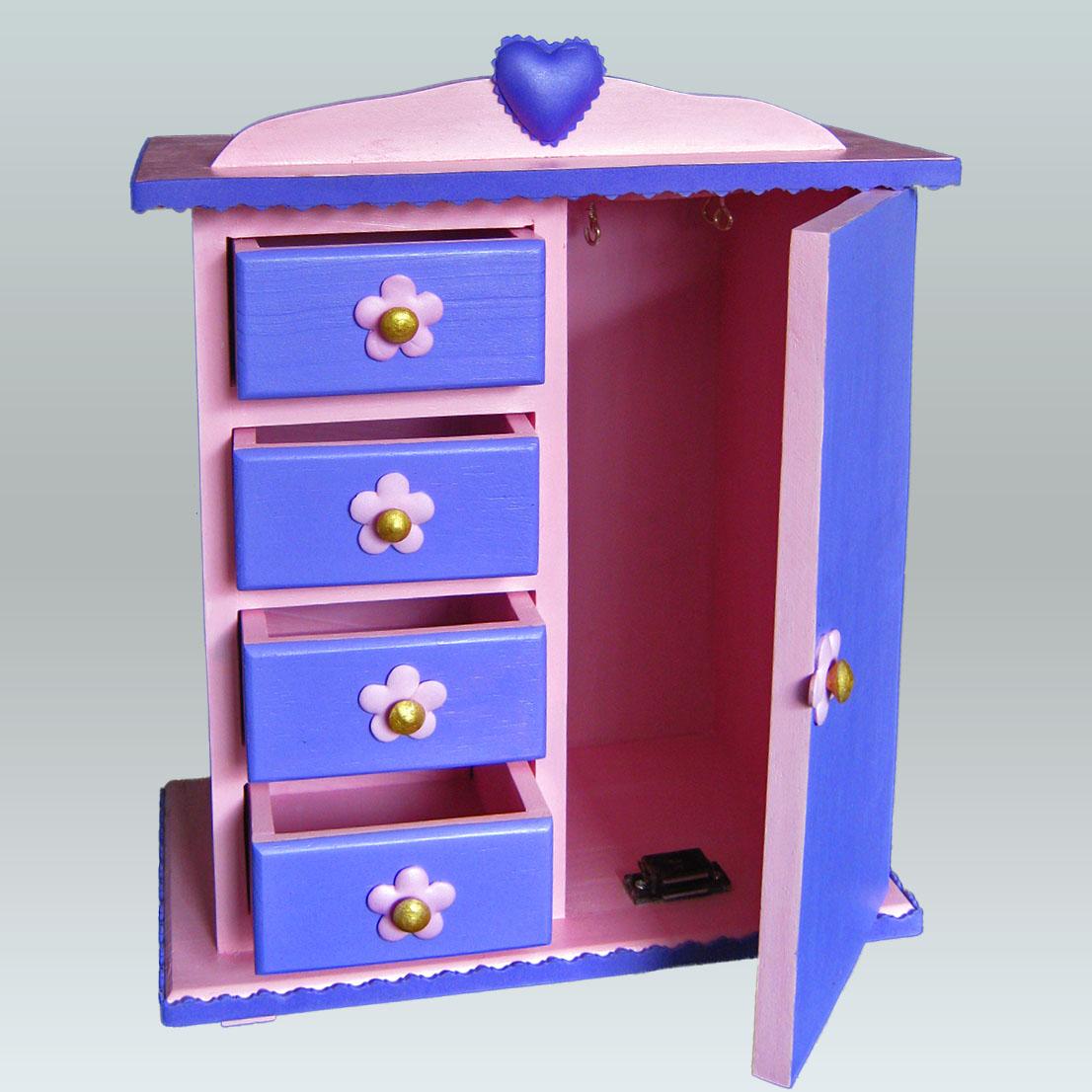 Terearte joyero en forma de armario para el cuarto de - Armarios para habitacion nina ...